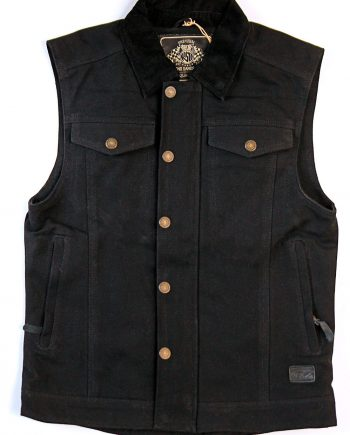Roland Sands Design Ramone Vest Black