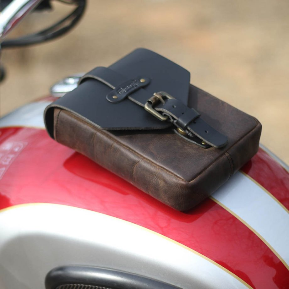 Trip Machine Leather Tank Pouch